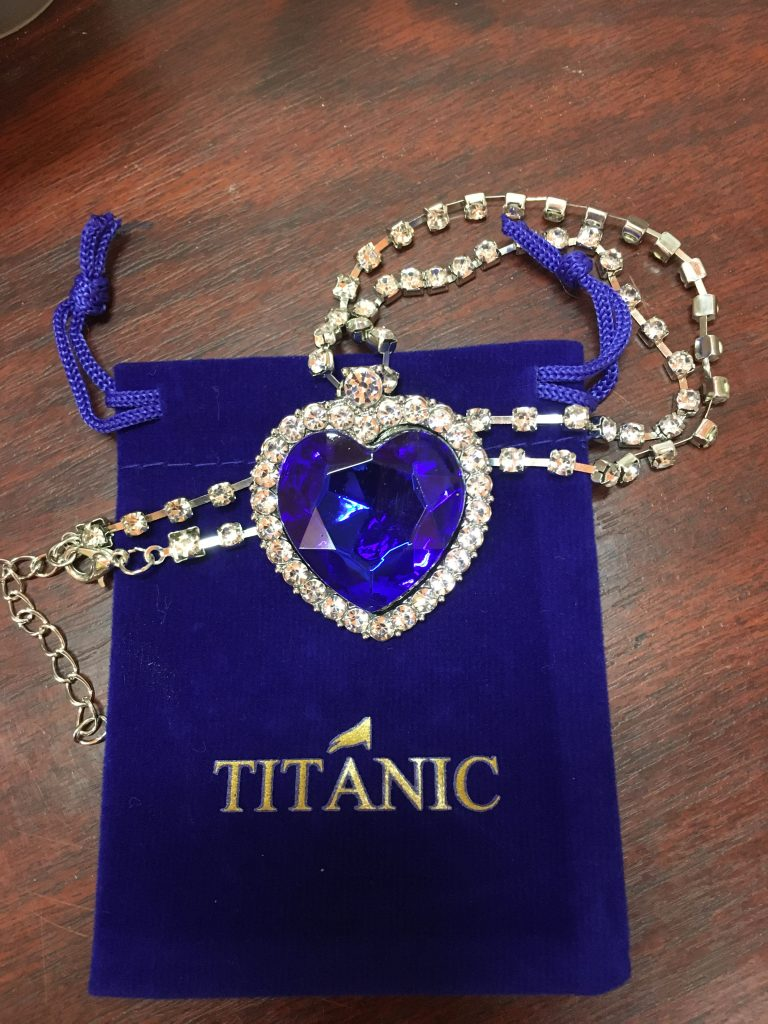 Titanic Necklace photo review